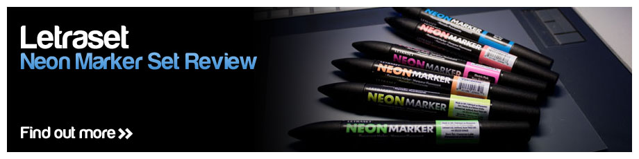 Letraset Neon Markers Review