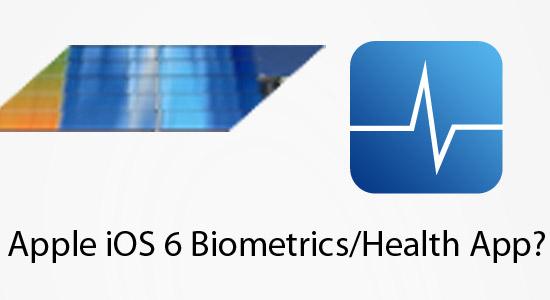 ios6 biometrics health app