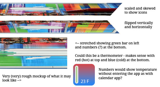 apple iPhone 5 Thermometer